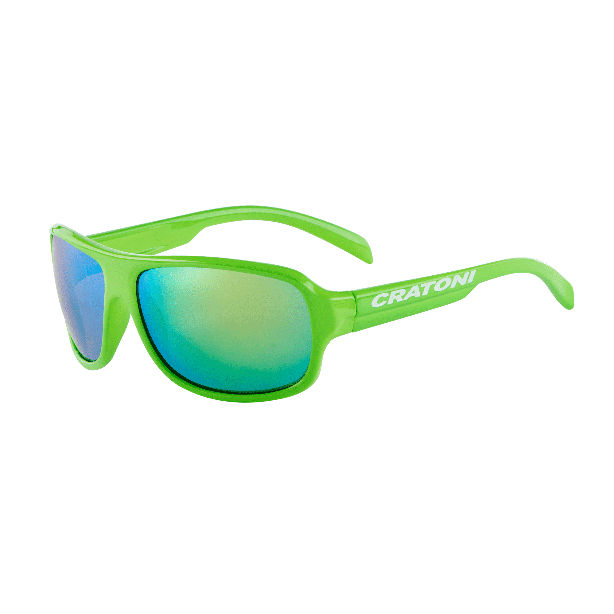 Cratoni C-Ice-Junior neongreen-glossy