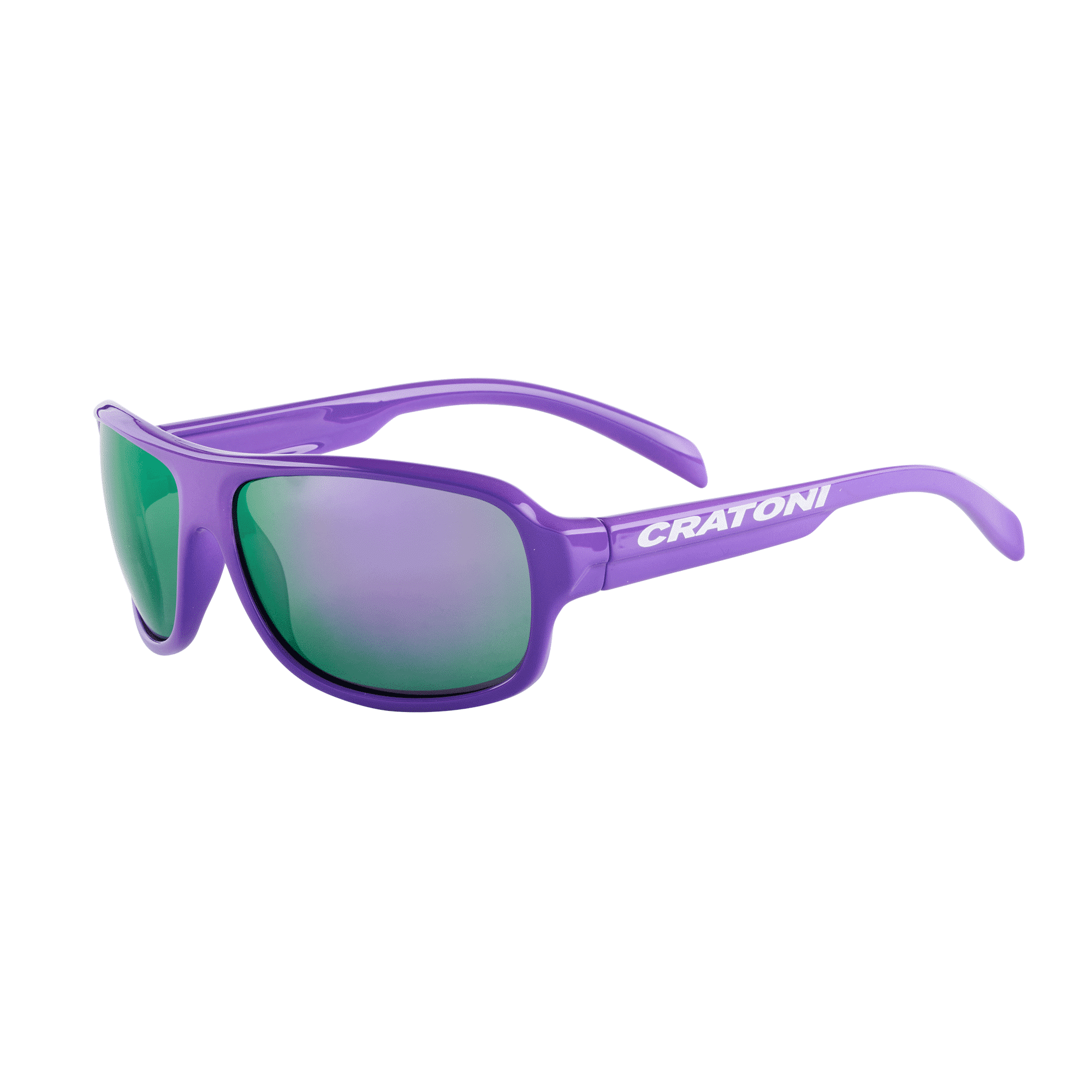 Cratoni C-Ice-Junior purple-glossy