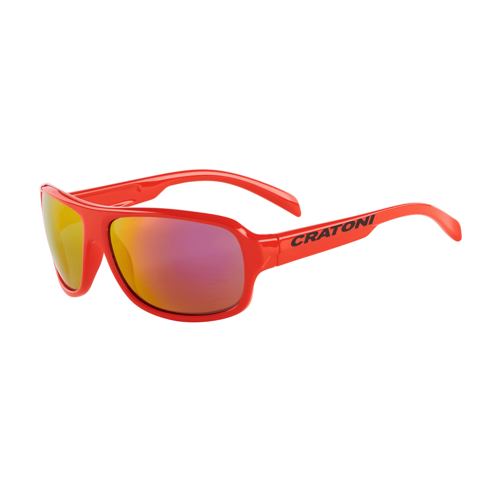 Cratoni C-Ice-Junior red-glossy