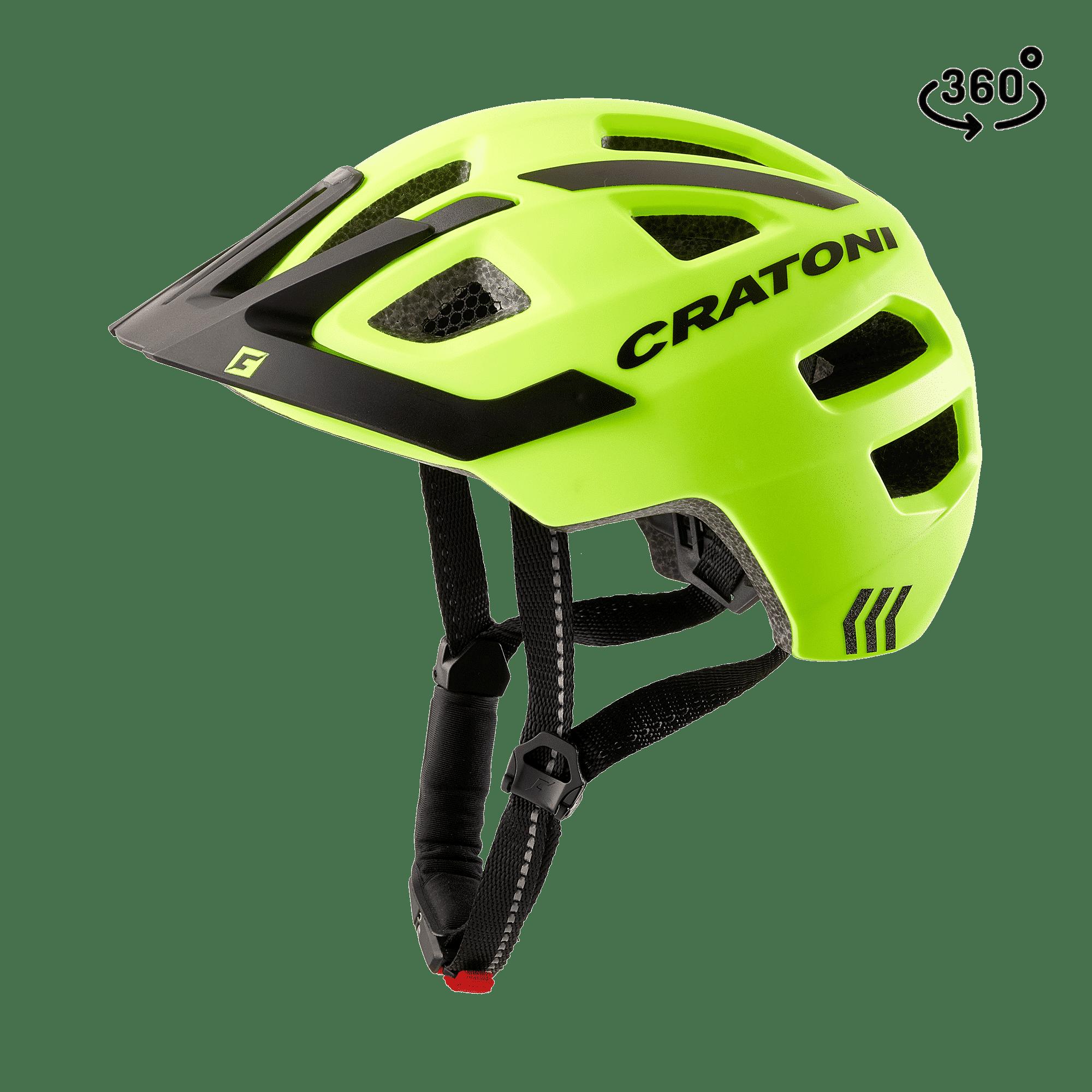 Cratoni Maxster-Pro-R neonyellow black matt