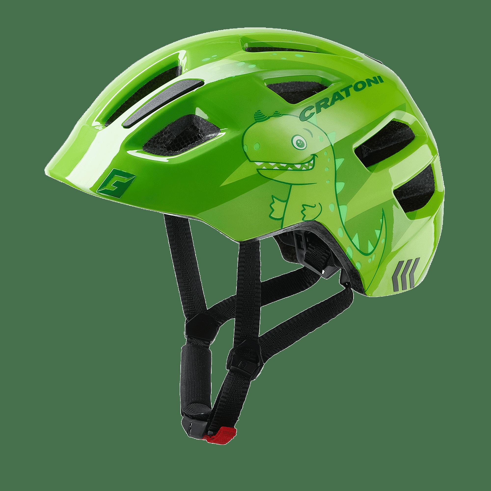 Cratoni Maxster dino green glossy