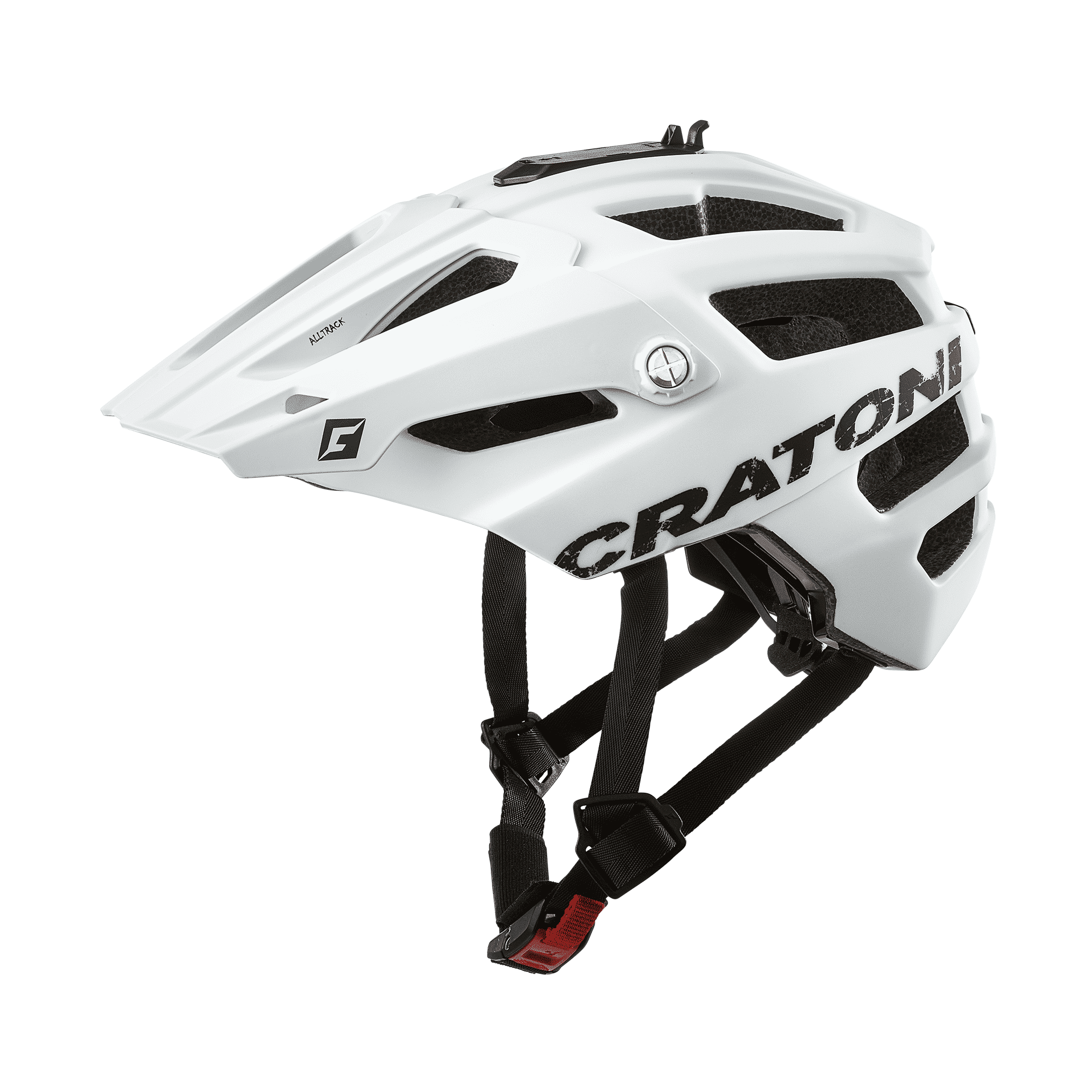 Cratoni AllTrack white matt