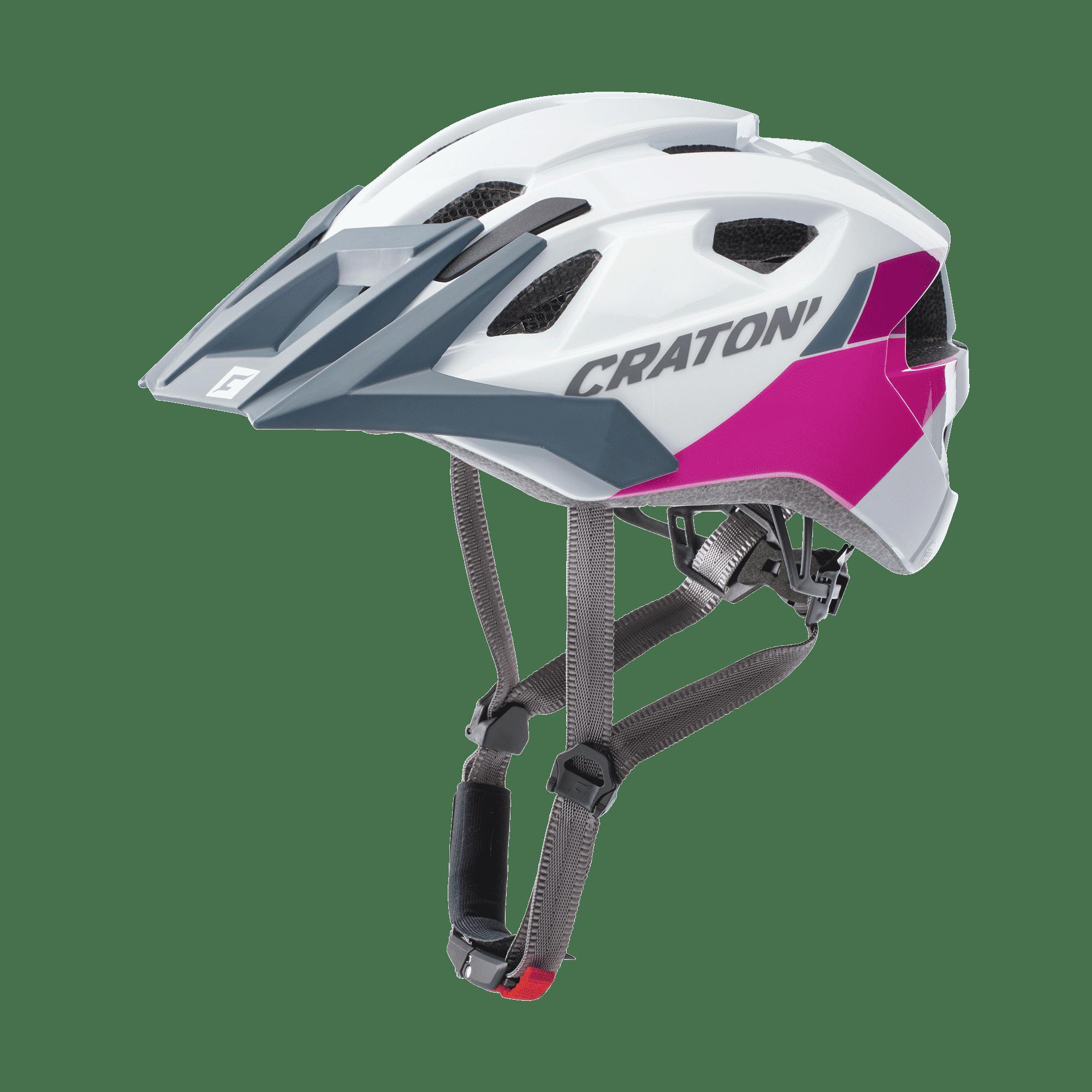 AllRide white pink matt