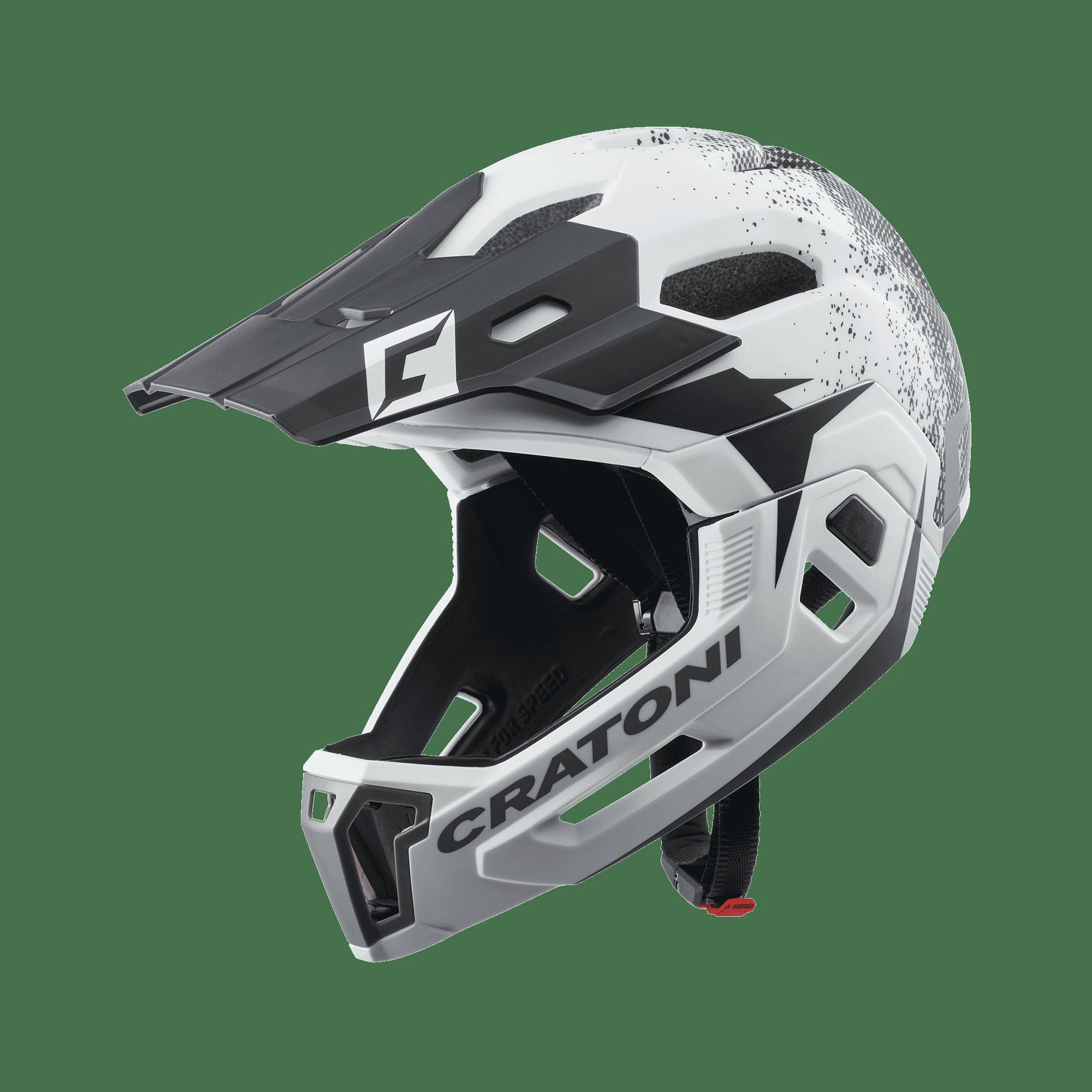 Cratoni C-Maniac 2.0 white black matt