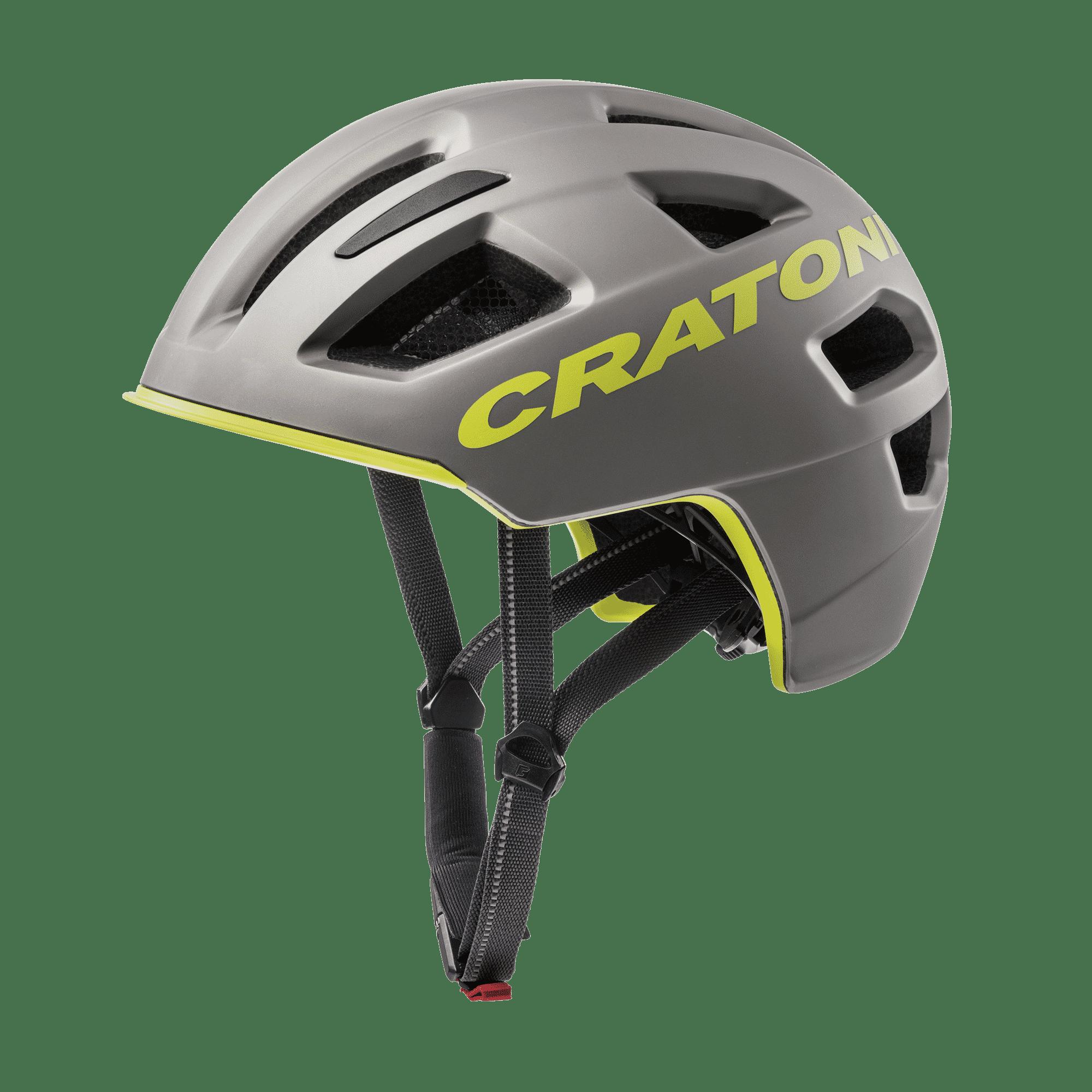 Cratoni C-Pure anthracite lime matt
