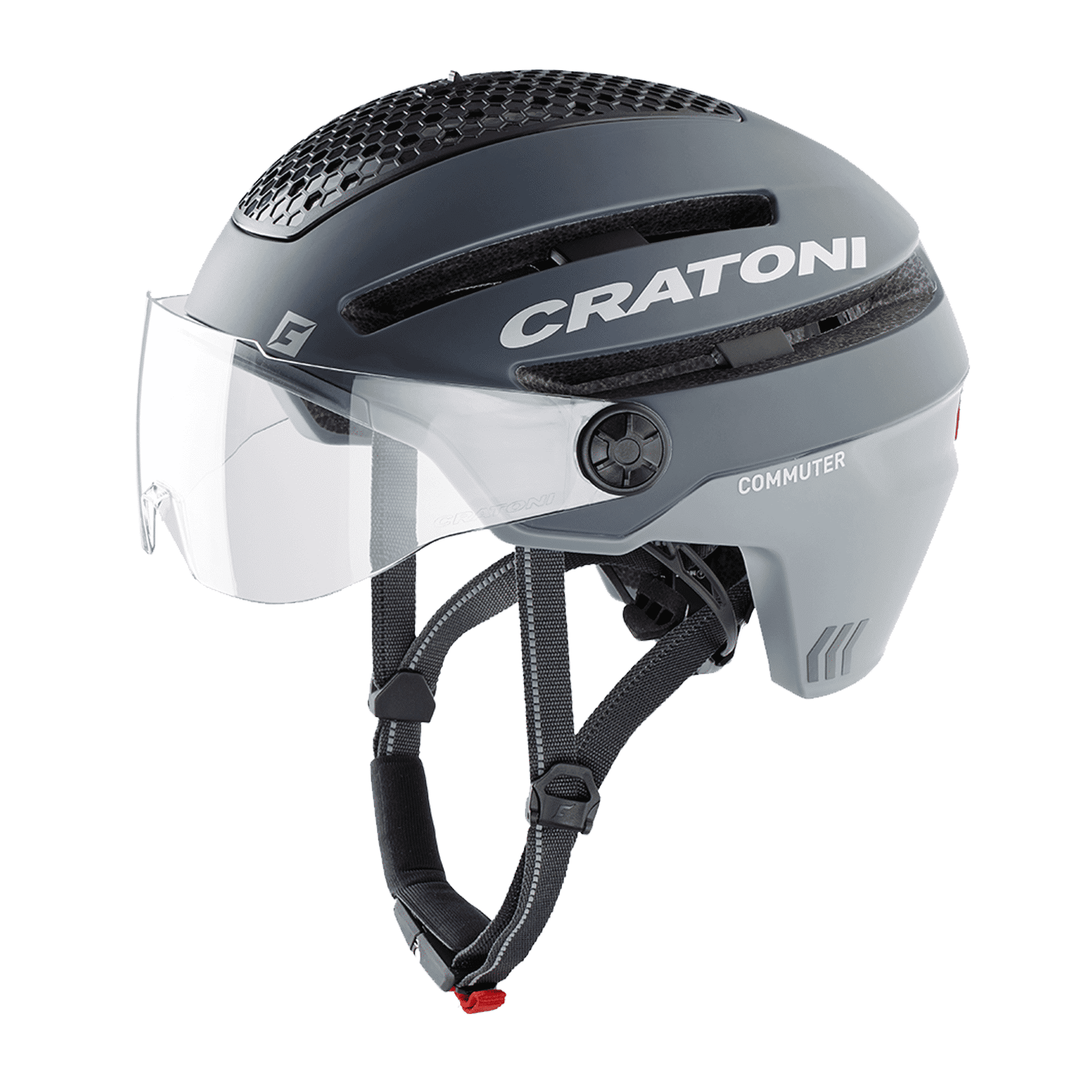 Cratoni Commuter grey matt