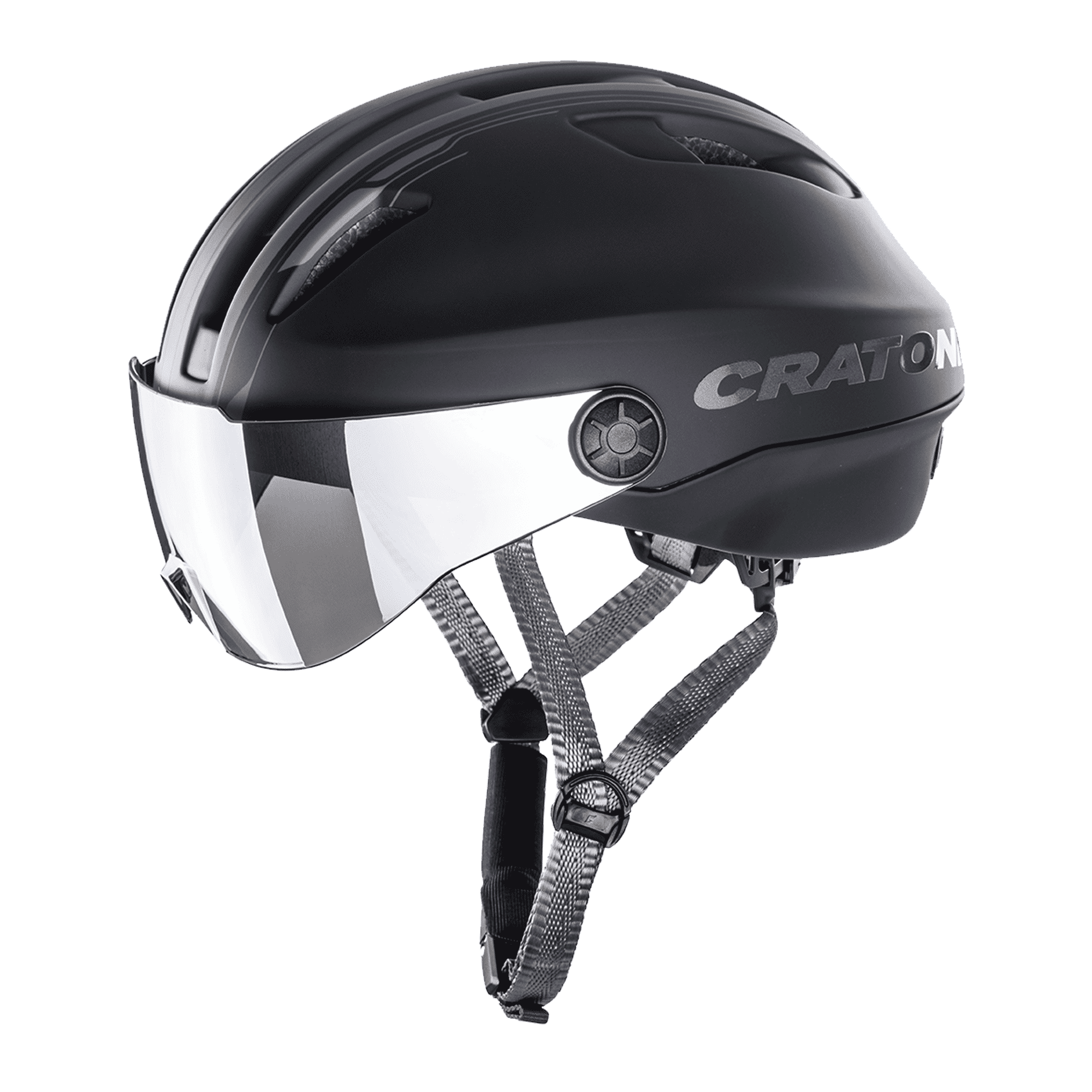 Cratoni Evo black anthracite matt
