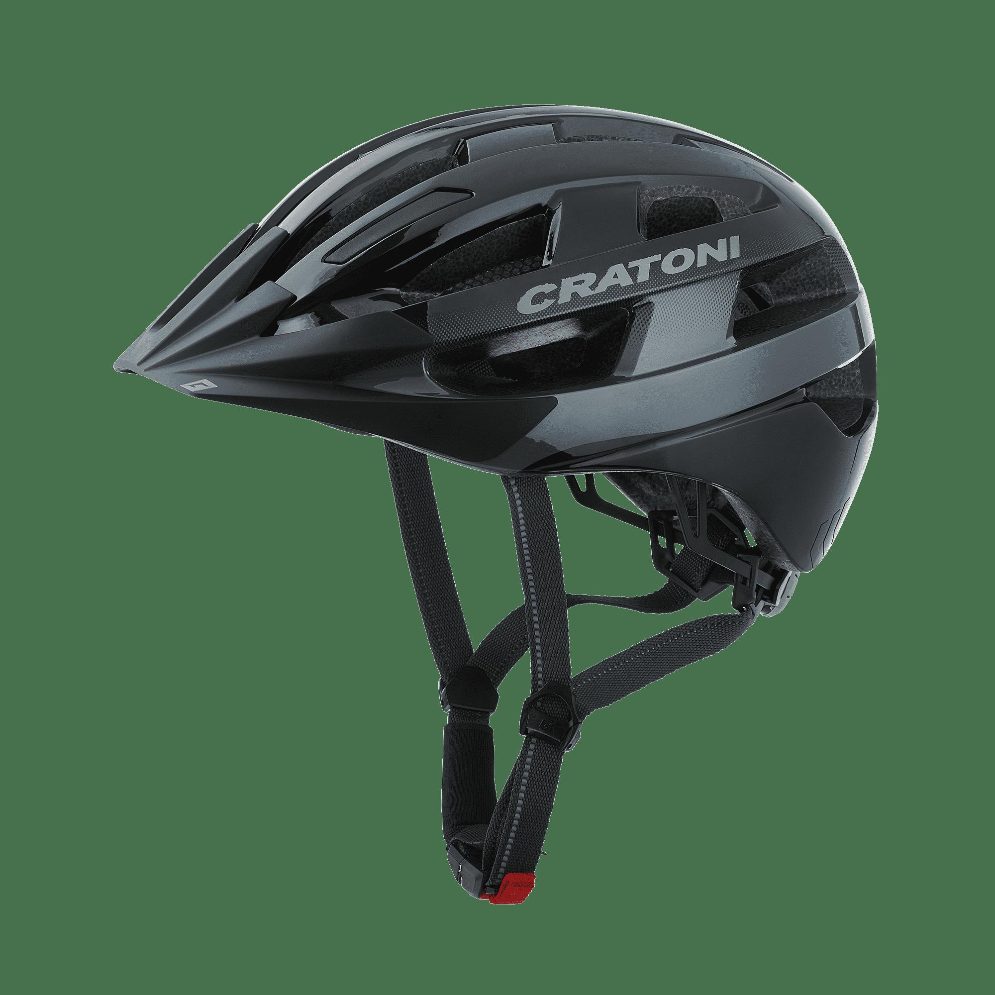 Cratoni Velo-X black glossy