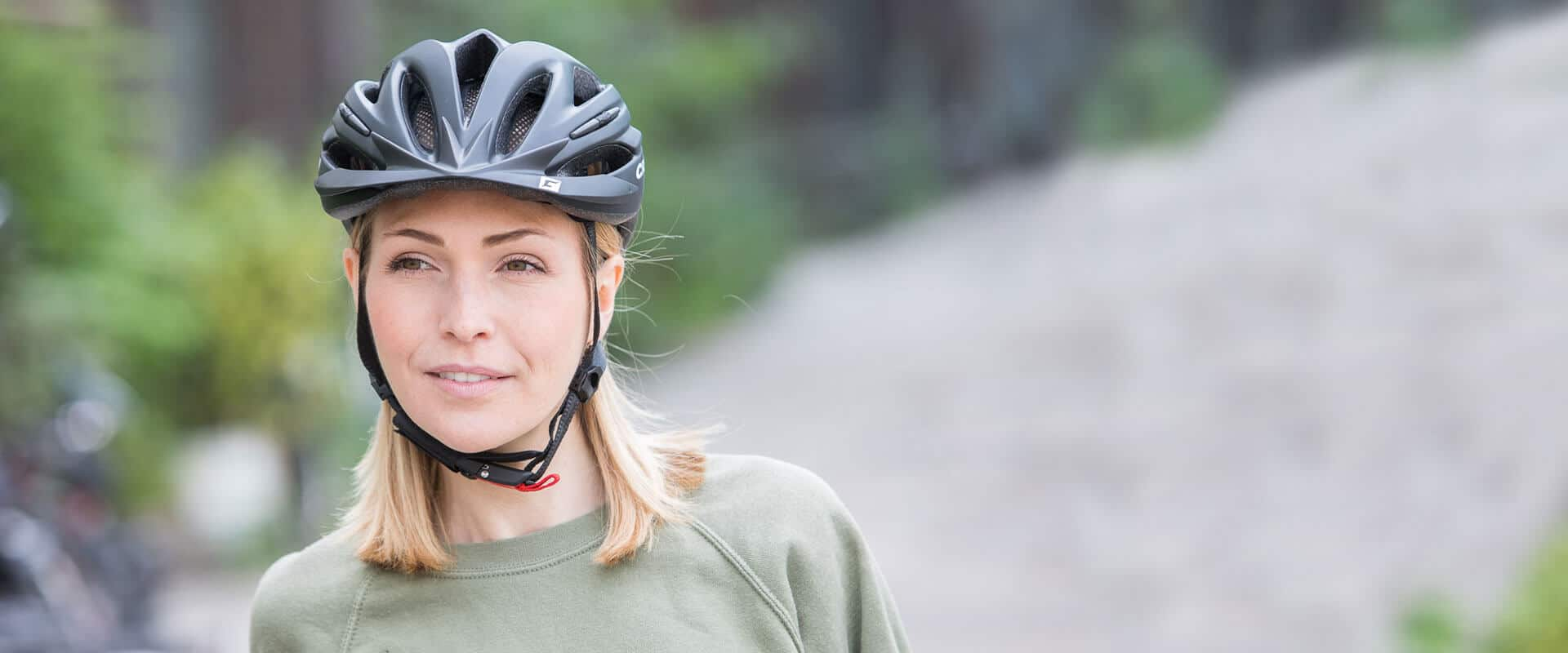Bequemer Fahrradhelm für die Freizeit