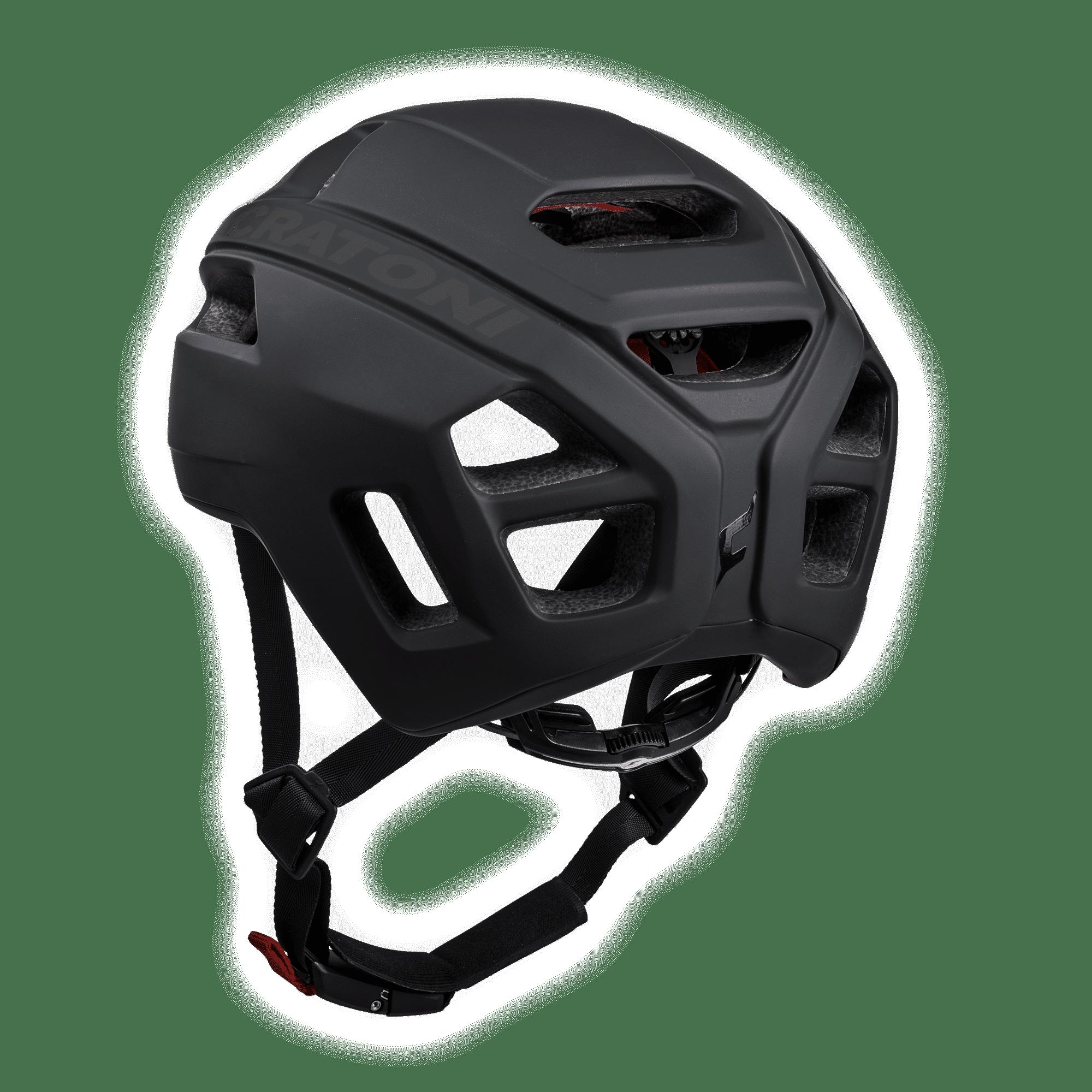 C-Pro Black Rubber Rückansicht
