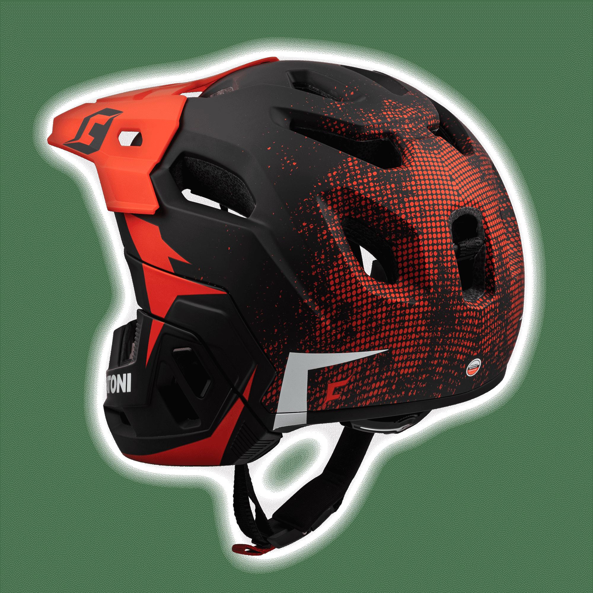 C-Maniac 2.0 Black Red Rückansicht