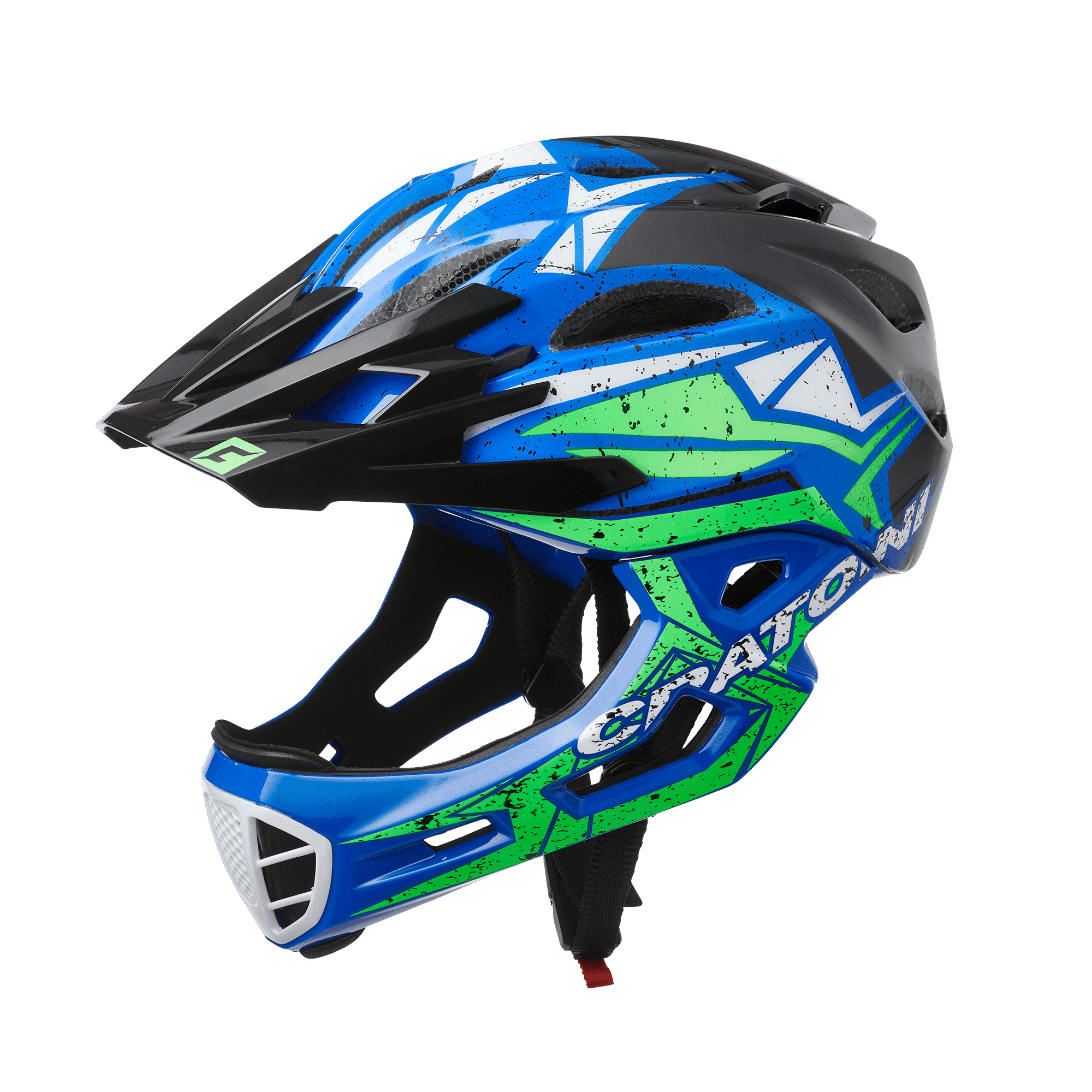 C-Maniac Pro Blue Lime Glossy