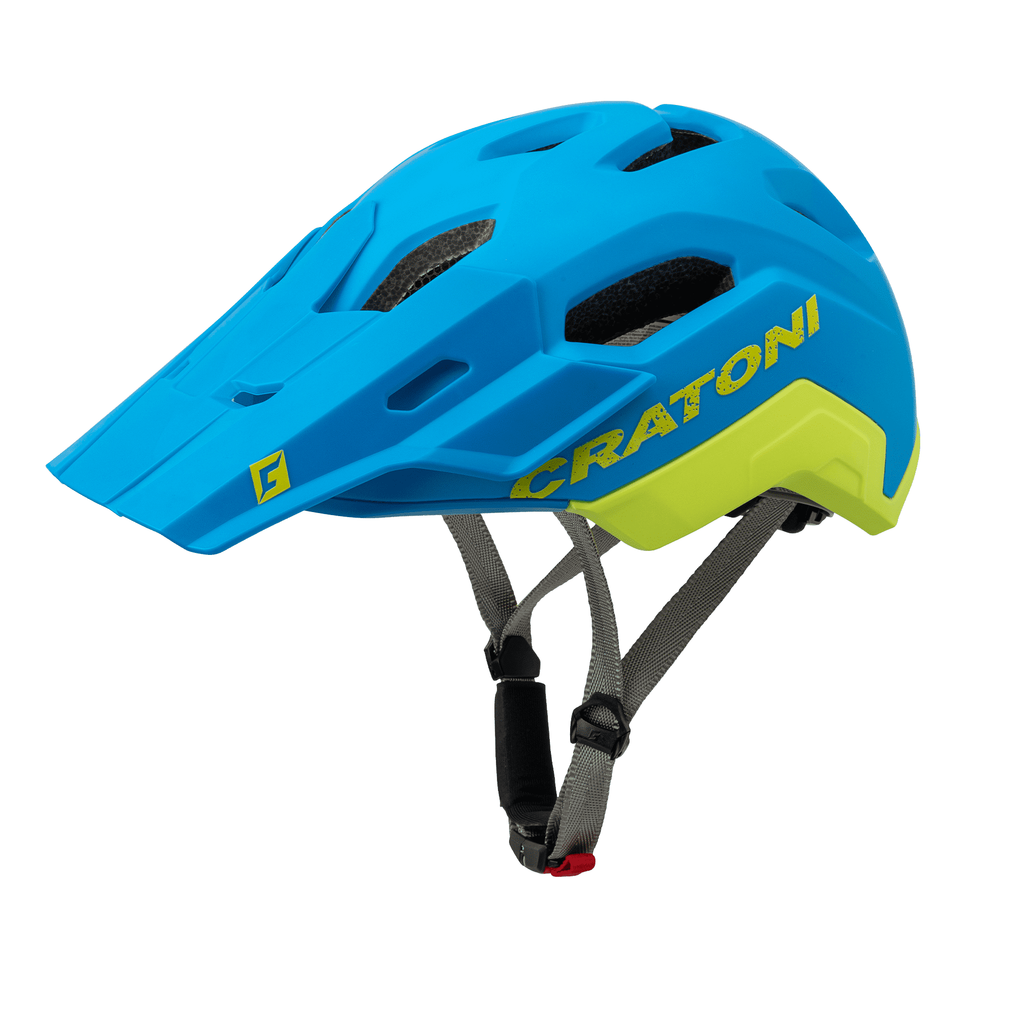 Cratoni C-Flash MTB Helm Grey//Lime Matte 2020 Fahrradhelm