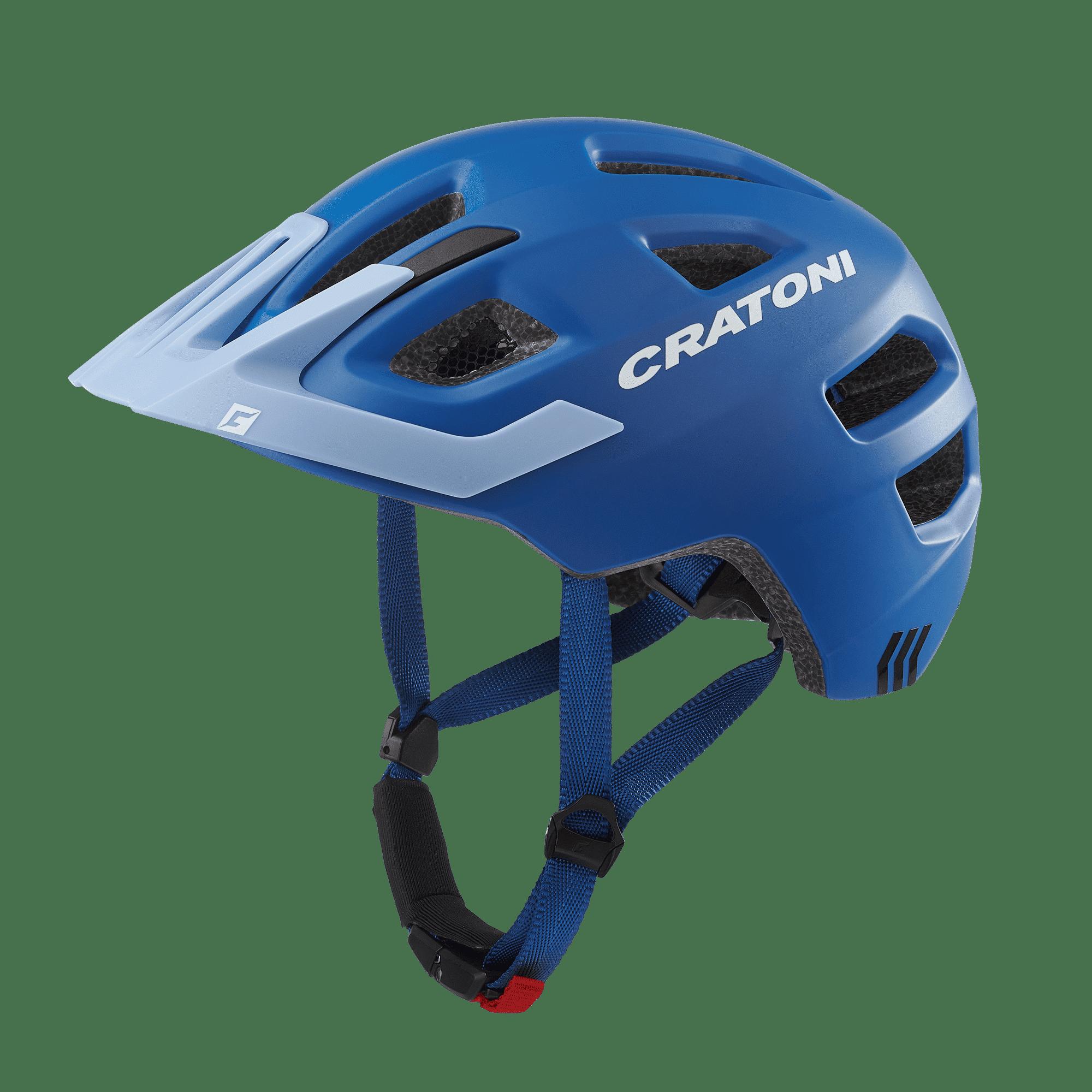 Maxster Pro Farbe: Yellow-Blue matt Cratoni 51-56 cm Größe: S-M