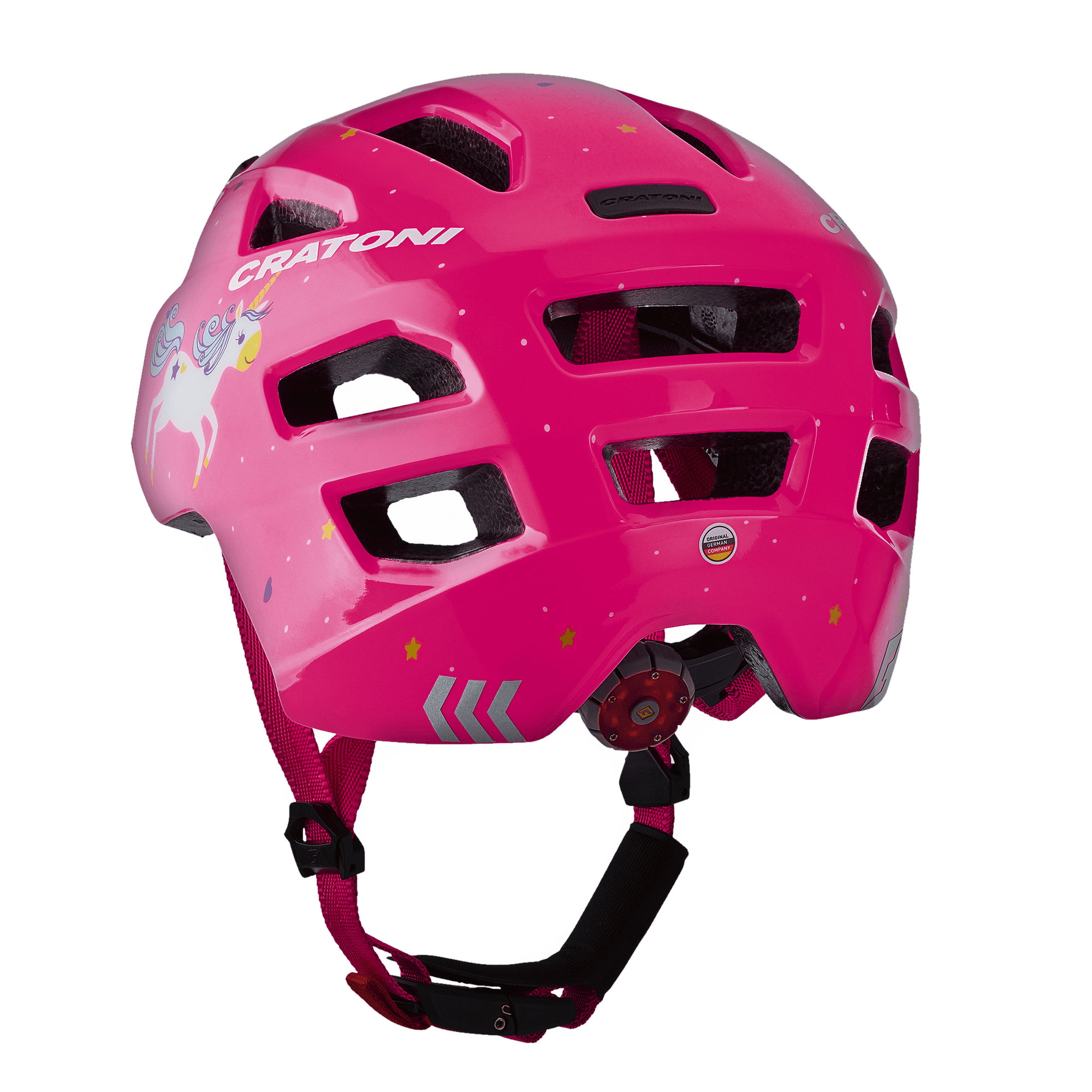 Maxster Unicorn Pink Glossy Rückansicht