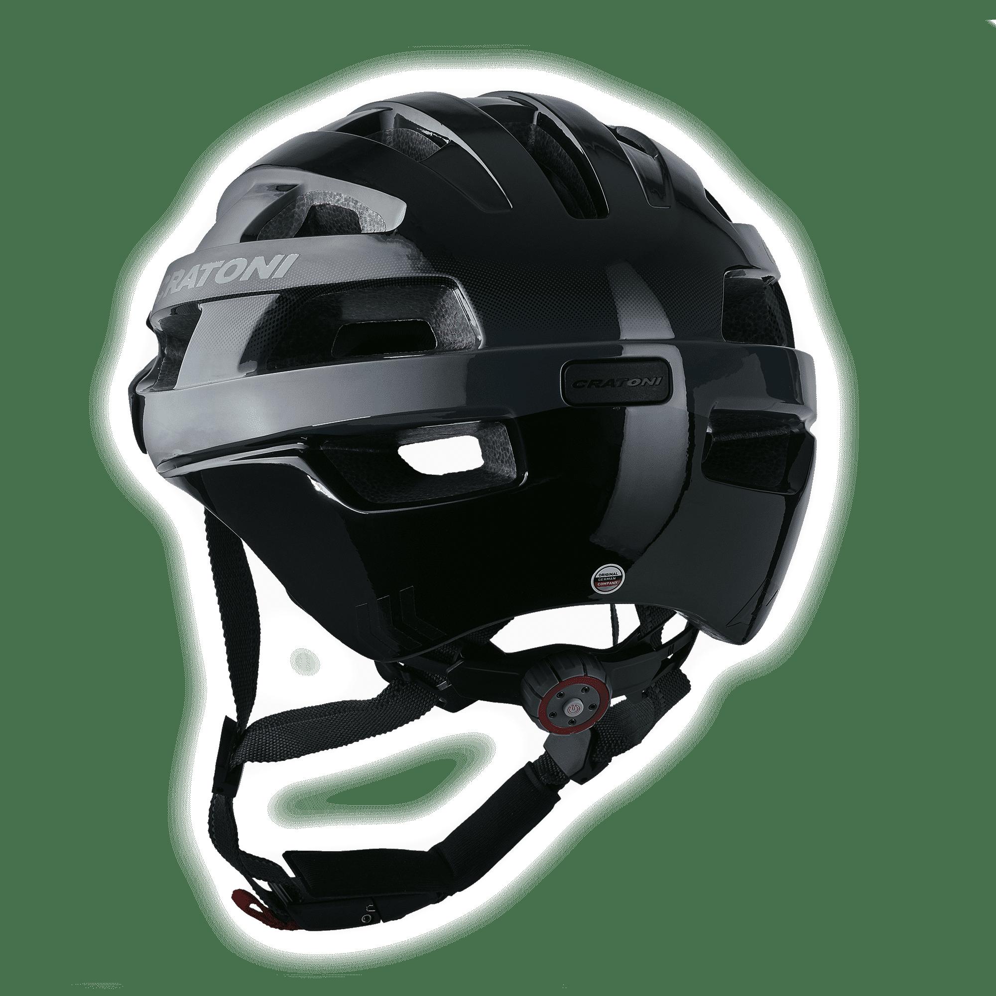 Velo-X Black Glossy Rückansicht