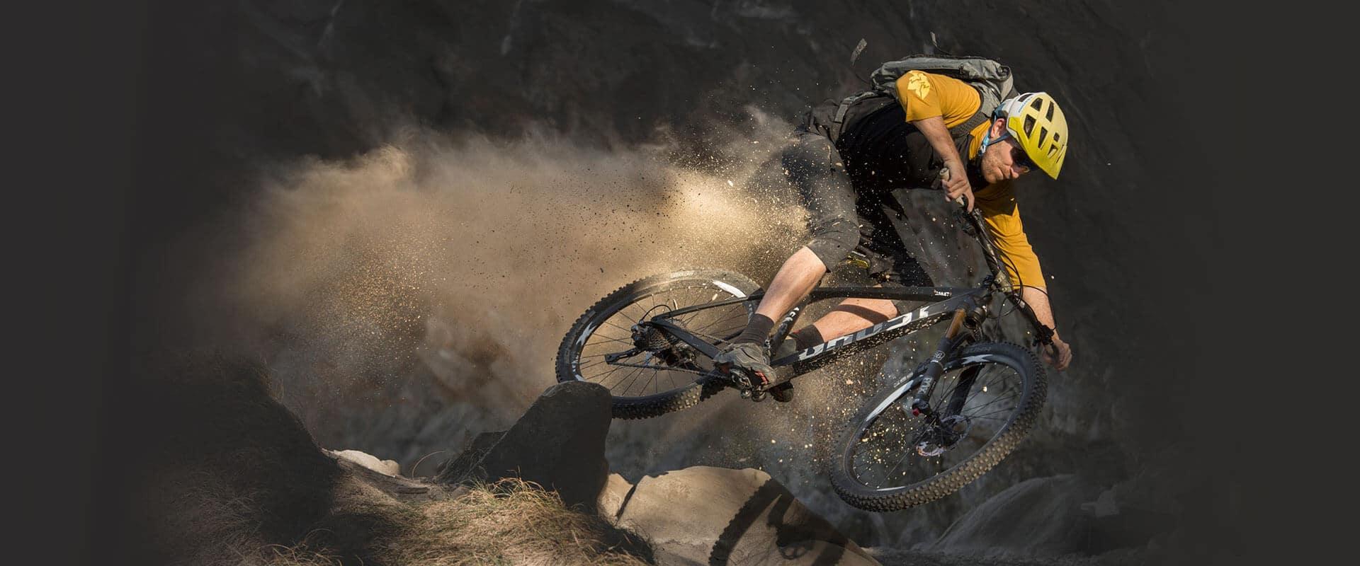 sichere Mountain Bike Helme