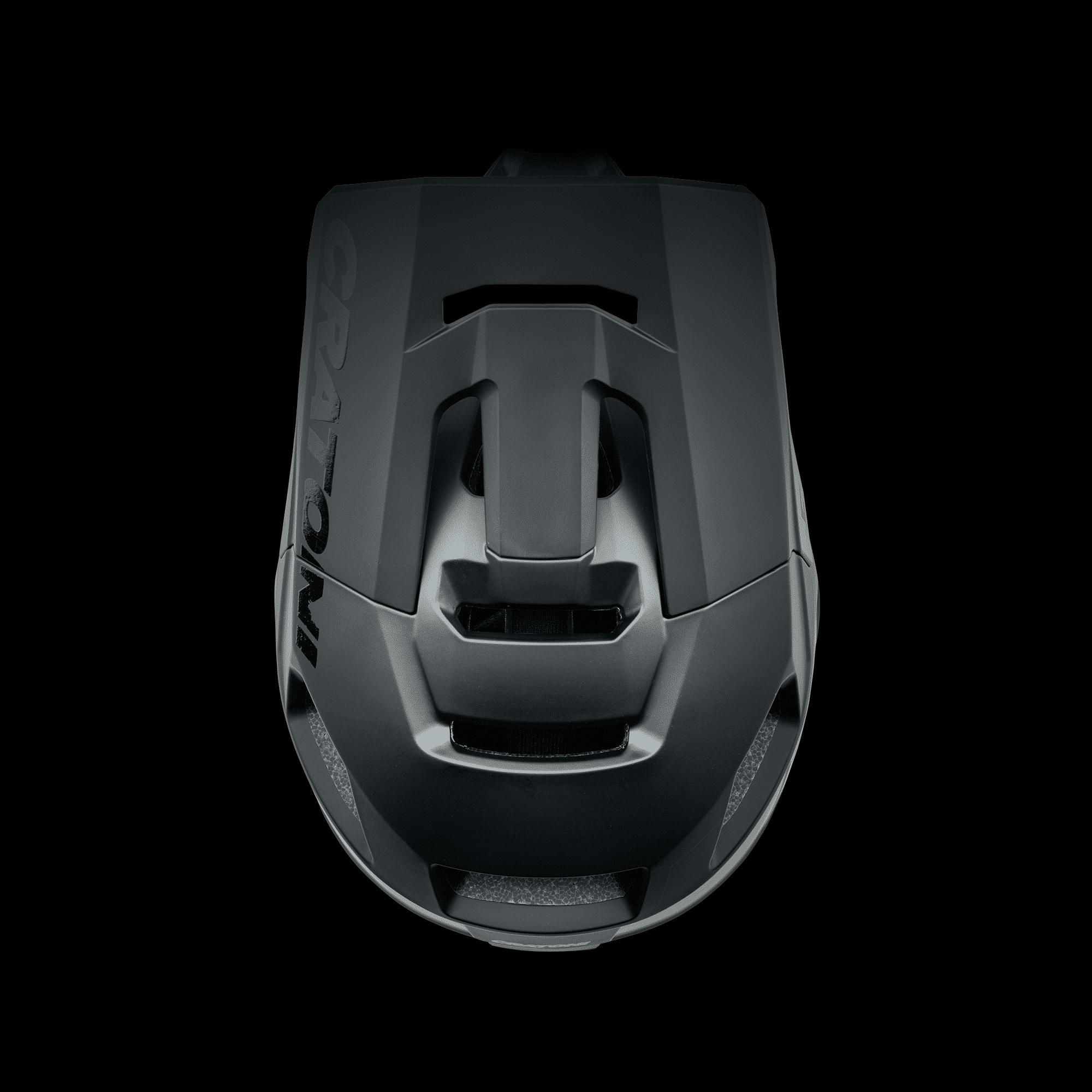 Interceptor 2.0 black matt oben
