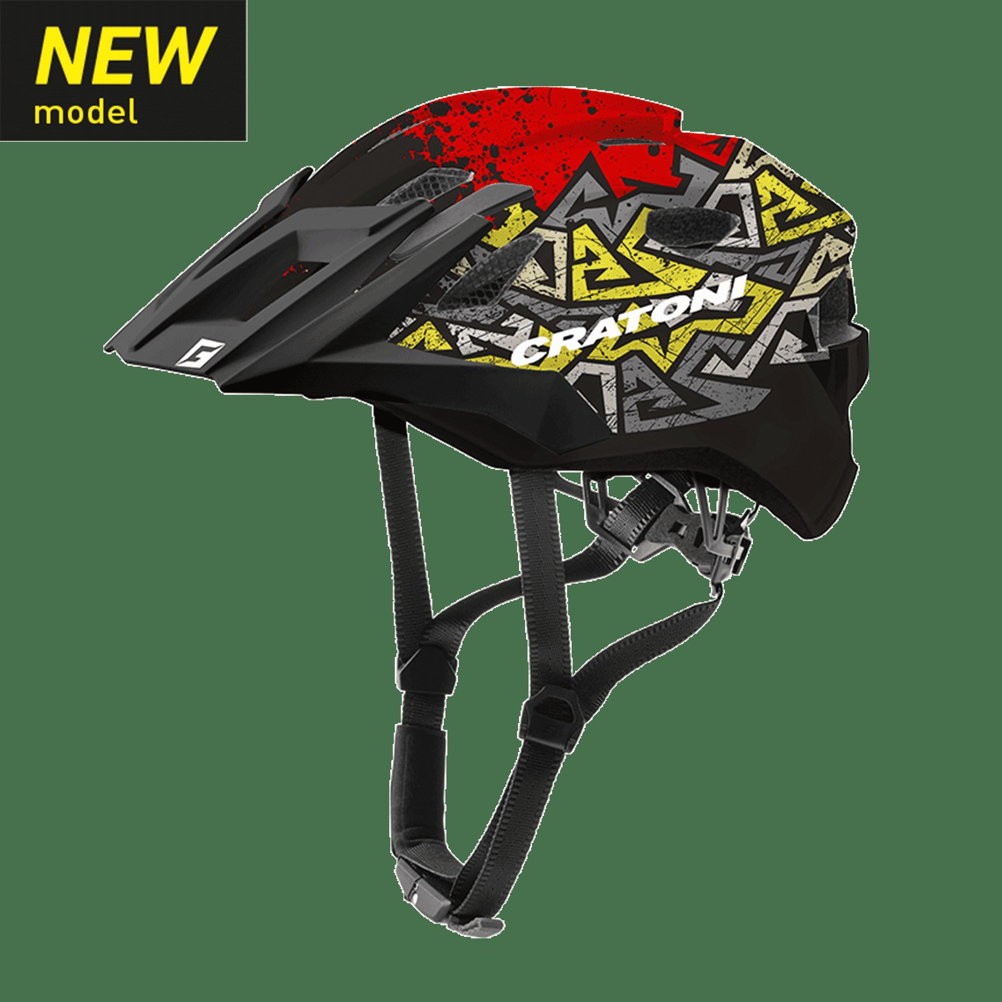 Helm Cratoni AllRide Jr. wild red matt new model