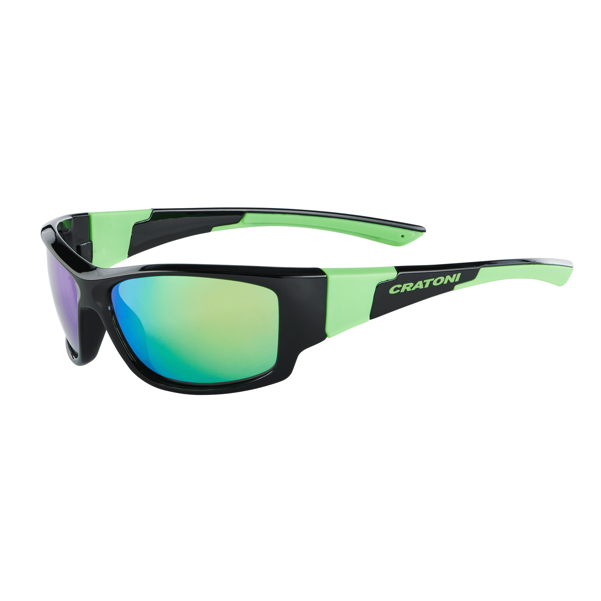 Cratoni C-Spin black-neongreen-glossy
