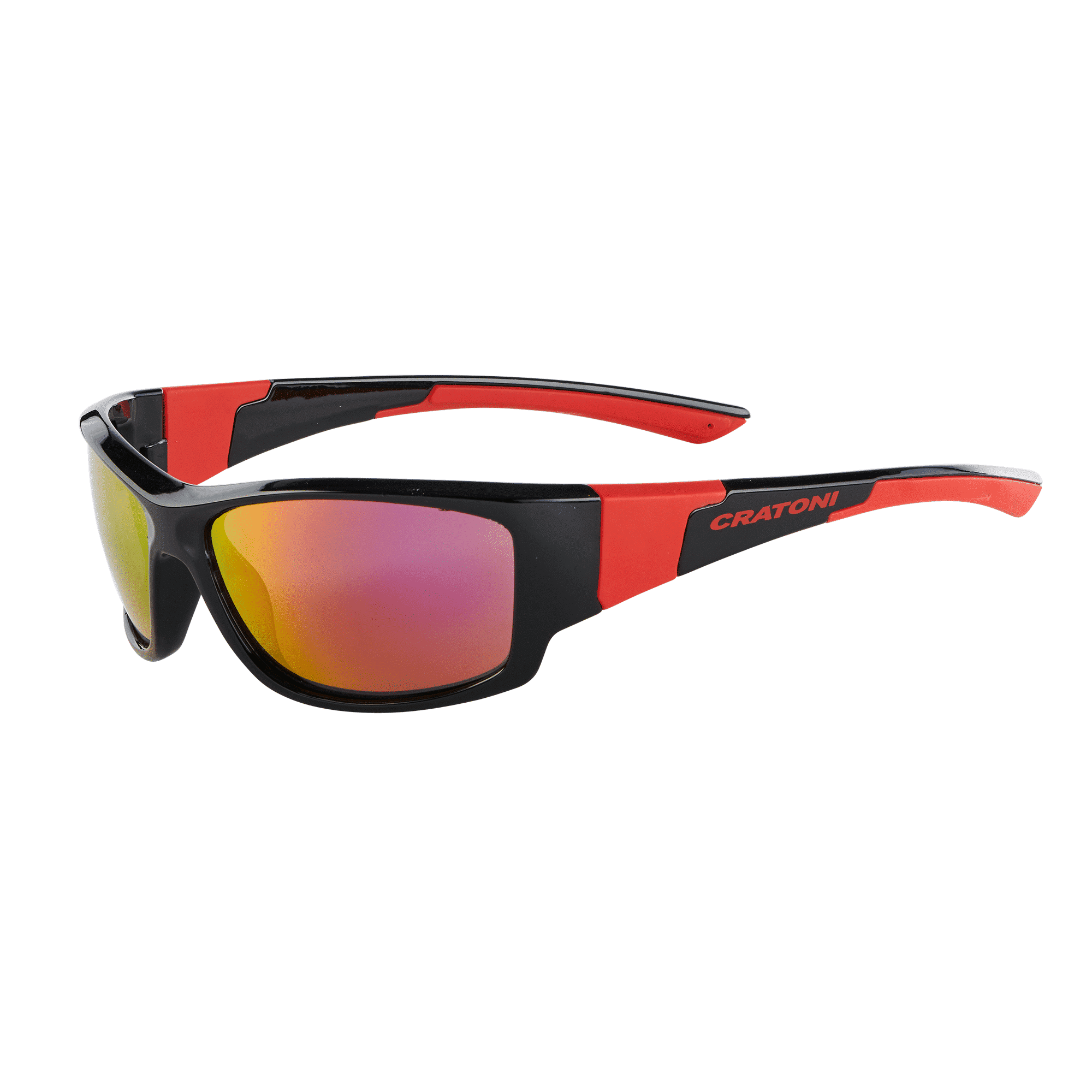 Cratoni C-Spin black-red-glossy