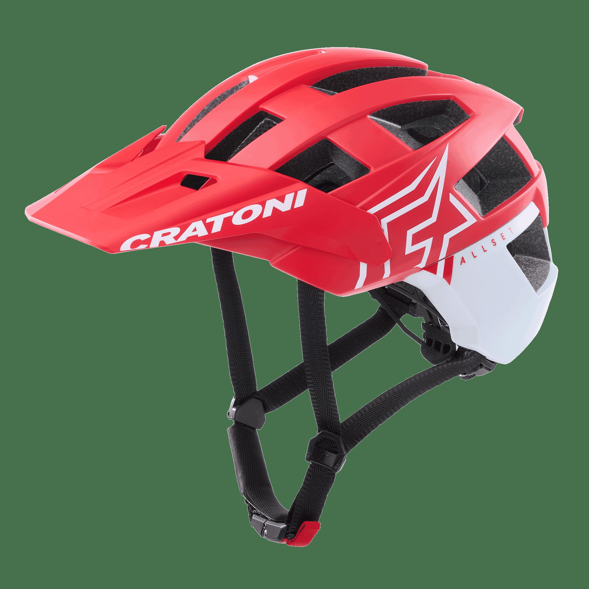 AllSet Pro red-white matt