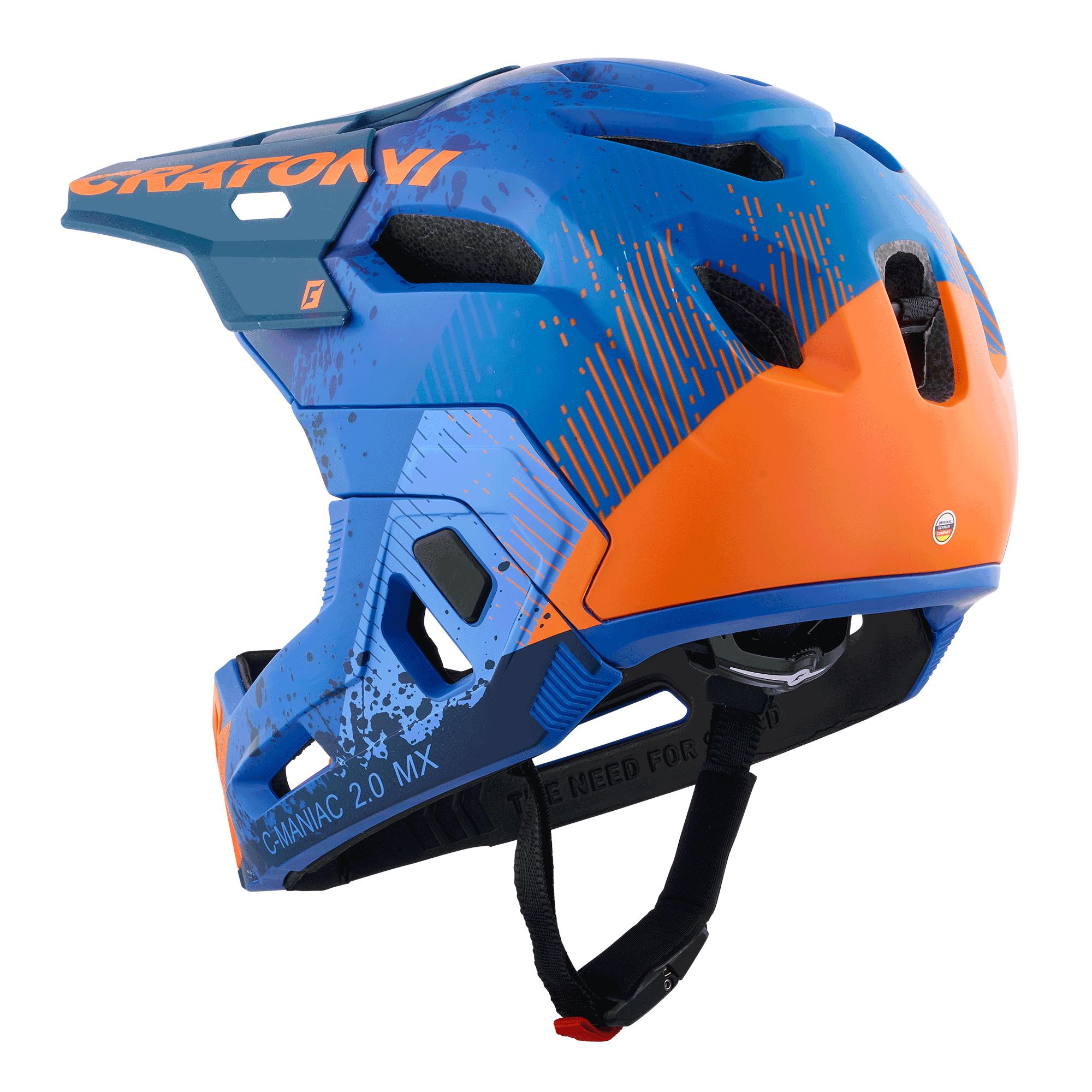 C-Maniac 2.0 MX blue-orange matt