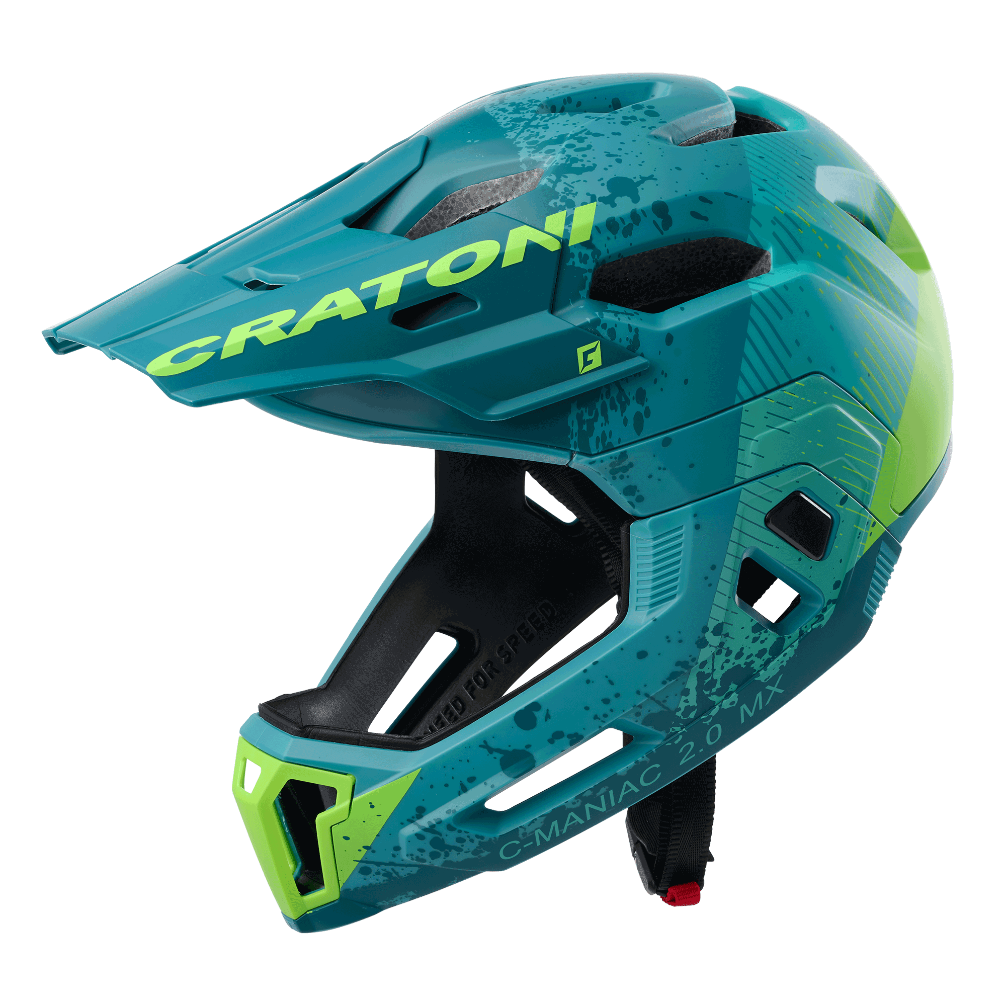 C-Maniac 2.0 MX petrol-green matt