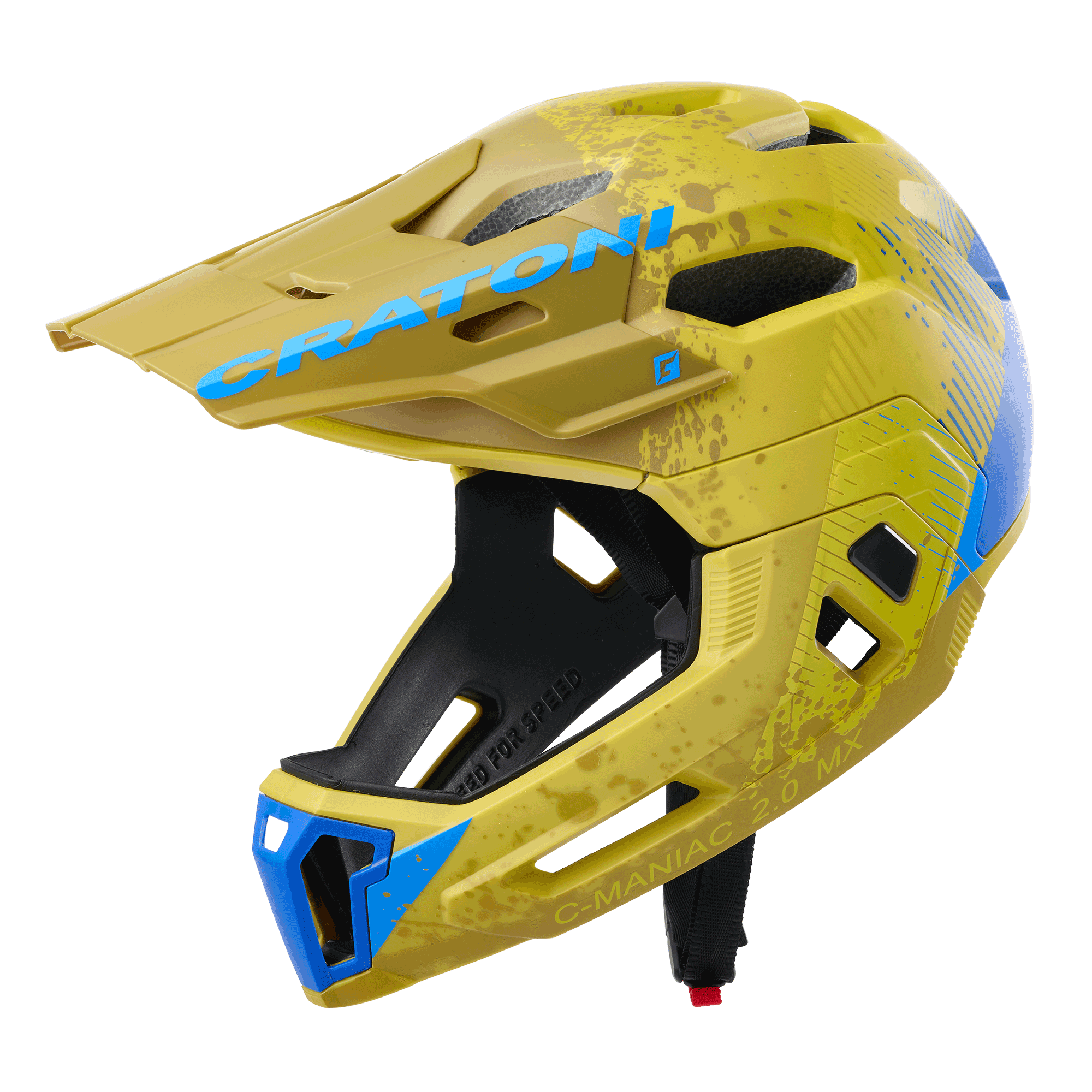 C-Maniac 2.0 MX yellow-blue matt