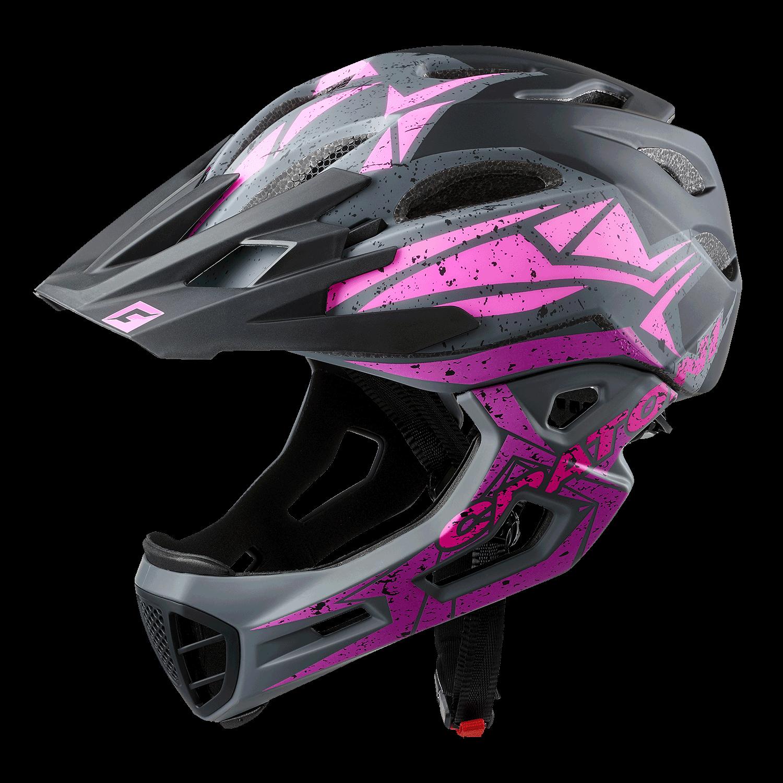 C-Maniac Pro black-pink-purple matt