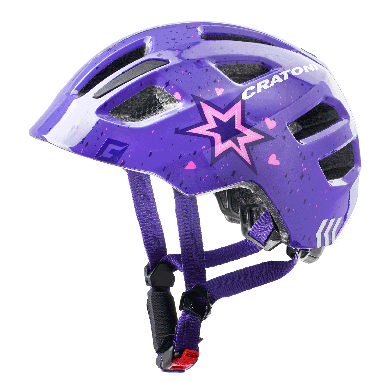 Maxster star-purple glossy